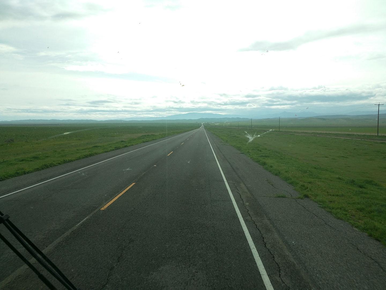 Nice flat road