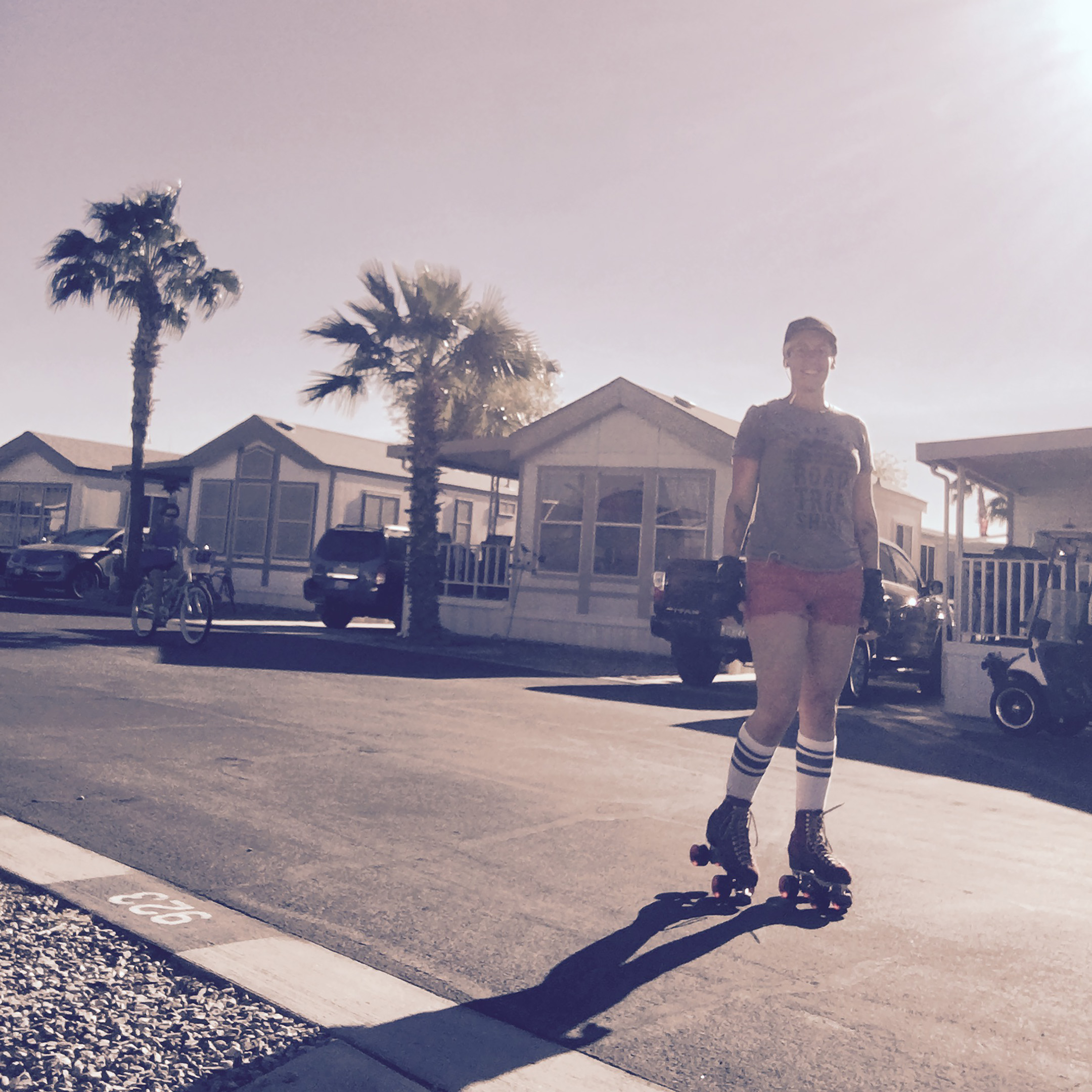 Street skating