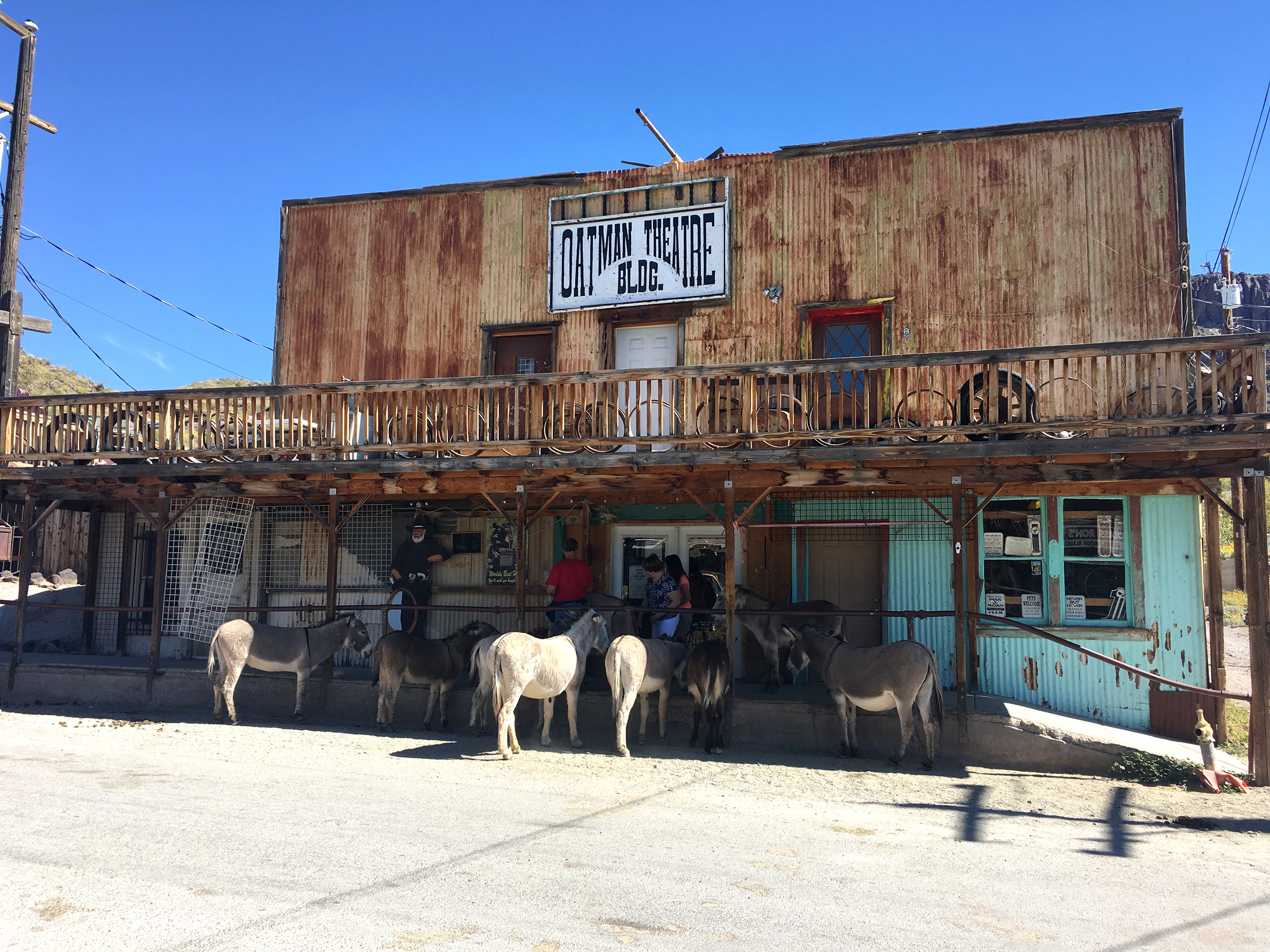 Oatman Theatre Building
