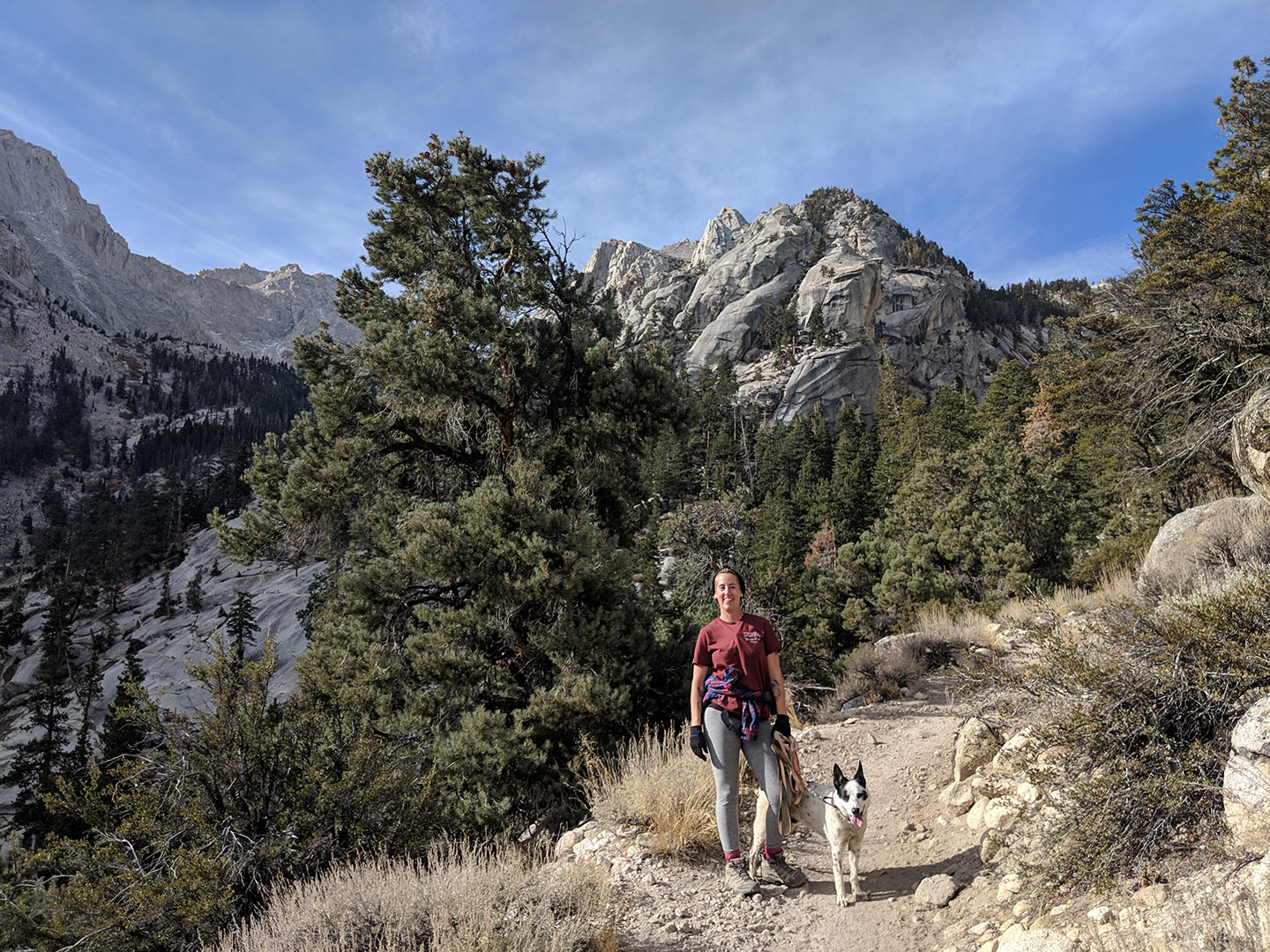 Hiking the Mt Whitney Trail