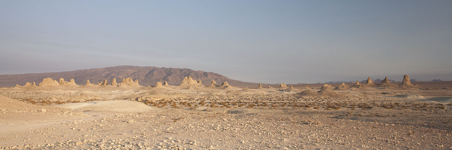 Scenery at Trona Pinnacles