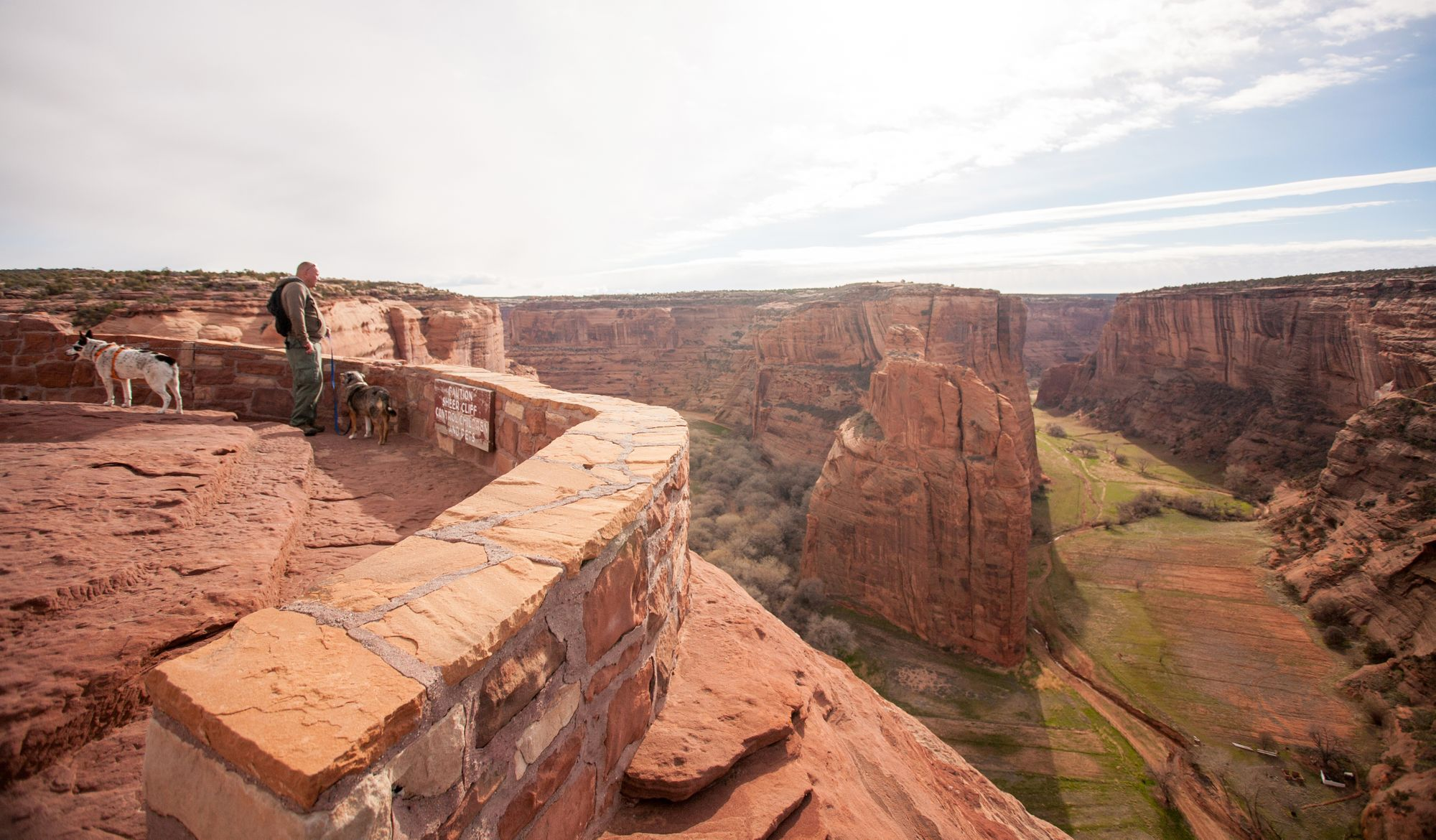 Visiting Canyon de Chelly National Monument with Dogs